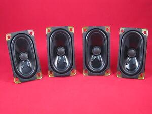 Millennium-5 Mazda Miata Premium Music Headrest Speakers, Set of 4. New!