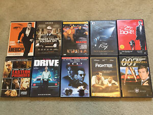 Lot of 10 DVD 's Movies / Feature Films  