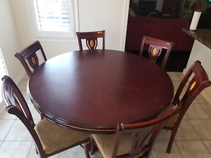 """70"""" Maple wood 6 Person dining table"""