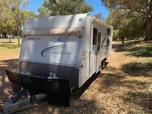 Jayco Expander caravan