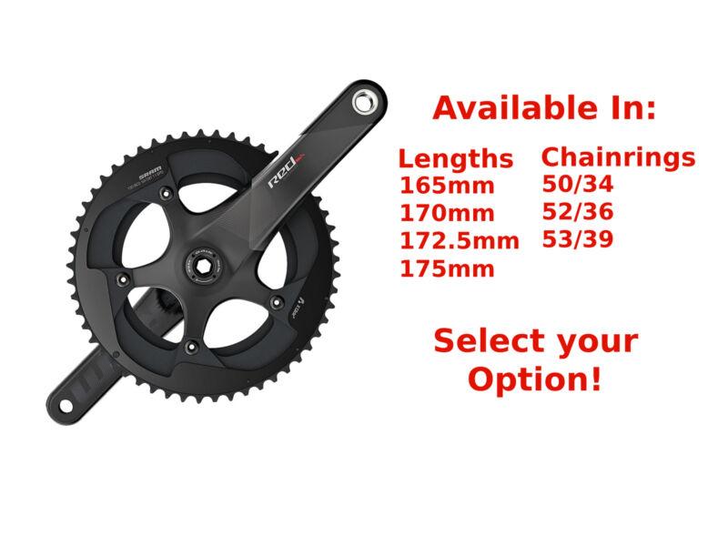 SRAM RED 22 11-Speed GXP Carbon Road Bike Crankset