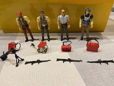 A-TEAM Action Figures THE BAD GUYS Complete Set Vintage Galoob Toys 1984