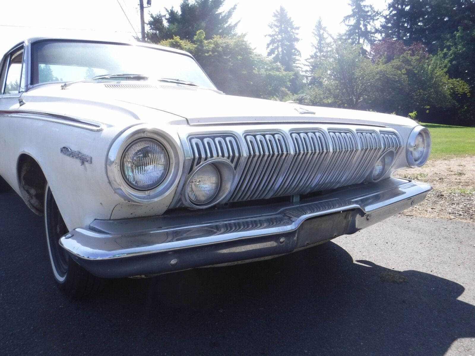 1963 Dodge 440 POLY 318 AT 727 w 8 3/4 RE  1963 Dodge 440 2 door Poly 318 2BBL w 727 push button auto 8 3/4 RE ~DRIVES NICE
