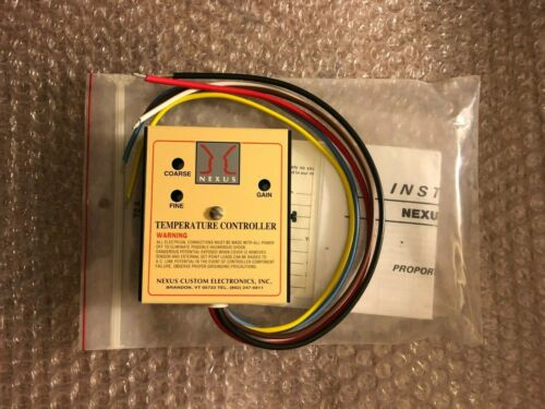 Nexus Custom Electronics 72A Temperature Controller,15A, 115V/230V, 50/60Hz
