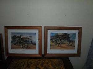 LARGE DARCY DOYLE FRAMED PICTURES Plainland Lockyer Valley Preview