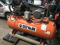 DEVAIR 120 gallon 10 horse 3 phase  Vtwin  cast London Ontario Preview