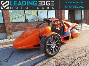 2017 Campagna T-REX 16-S Akrapovic Exhaust, saddle bags, carb...