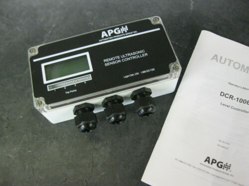 APG DCR-1006A Remote Level Controller For Ultrasonic Level Sensors 125791