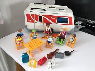 Playmobil Caravan Used