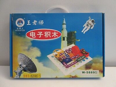 KEESS Electronics Learning Kit Set # W-5889 Teacher Wang Chinese Instructions