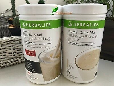 Herbalife Formula 1 Healthy Meal Shake And Protein Drink Mix  Multi Flavors