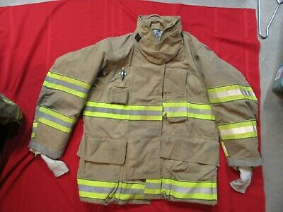 Mfg. 2011 Globe Gxtreme 42 X 32 Firefighter Turnout Bunker Jacket Fire Rescue