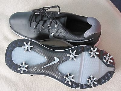 NIKE BLACK LUNAR CONTROL 3 SIZE 10 WIDE GOLF SHOES NEW WITH BOX