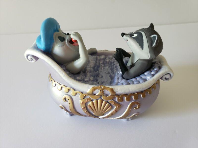 NEW Disney Store Meeko & Percy Bath Tub Pocahontas Trinket Tray