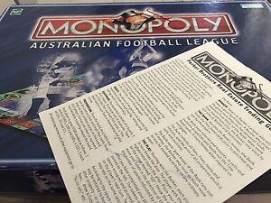 MONOPOLY - OFFICIAL AFL EDITION Doncaster Manningham Area Preview