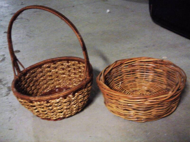 Christmas hamper basket woven round wicker basket gumtree does not support puppy mills negle Images