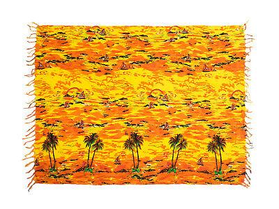 Woman Beach Swimwear Cover-up Wrap Sarong Scarf Curtain Hawaii Hawaiian Bali