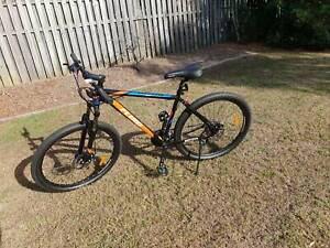 "Fluid Nitro Mens Mountain Bike Black/Orange (Large FRAME 19"")"
