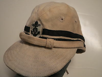 Japanese Navy HAT ,   WW II  _ Japanese Navy Cap  ,  Tropical Field Cap  , w2