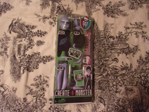 Monster High Doll Create-A-Monster Puma Brand New