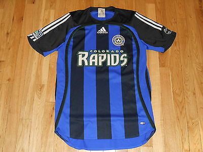 Rare ADIDAS COLORADO RAPIDS MLS Soccer Jersey Kit 2001-06 Mens SM Climacool 802e3e8e1