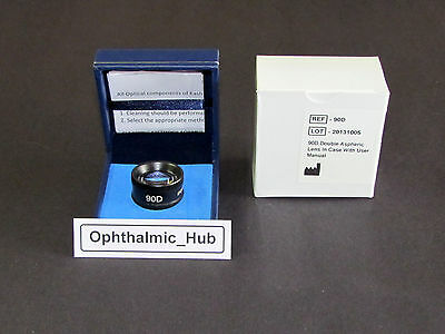 90d Aspheric Non Contact Lens For Ophthalmology And Optometry