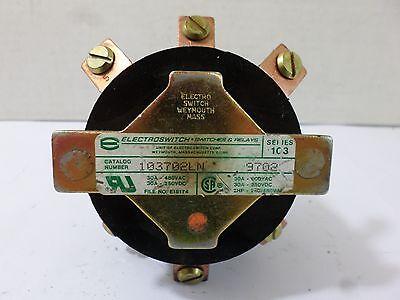 Electroswitch 103702ln 9702 Ser 103