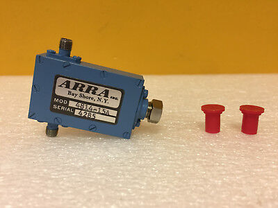 Arra 4814-15a 2 To 4 Ghz 0 To 15 Db Sma F Level Set Attenuator. New