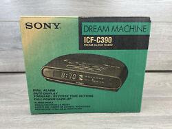 Vintage Sony Dream Machine ICF-C390 FM/AM Clock Radio Brand New