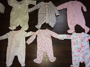 Lot of baby clothes girl 0-3