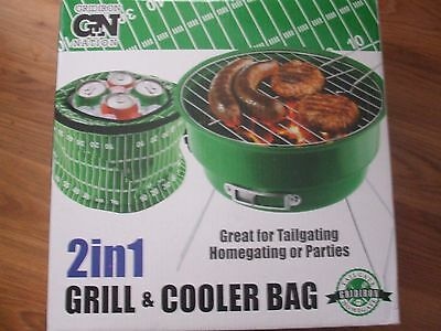 TAILGATING GRILL AND COOLER 2 IN 1- GIRDIRON NATION-GREAT FUN-MUST