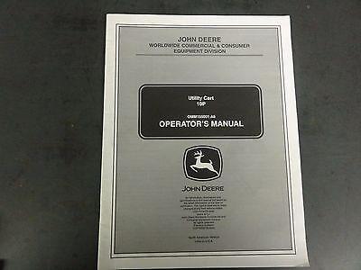 John Deere Utility Cart 10p Utility Cart Operators Manual Omm155001