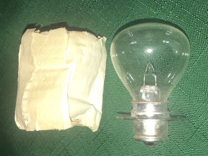 N.O.S.  BULB FOR FEDERAL FIREBALL LIGHT, 12 VOLTS 35 WATTS, WITH TWIST LOCK BASE