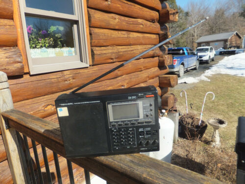 Realistic DX-390 AM FM LW MW Shortwave PLL Synthesized Receiver Radio - Works