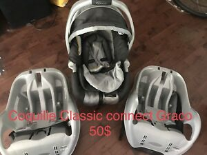 Coquille Graco snugride Classic connect