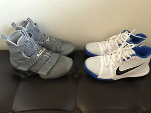 Youth size 2 shoes (Lebron James and Kyrie Irving)