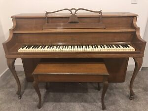 Bell upright Piano build in 1868 great condition