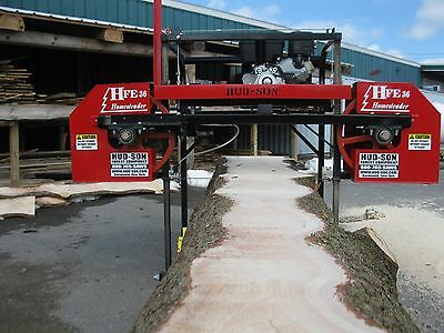 2018 Hfe 36 Portable Sawmill Portable Bandmill Band Mill Lumber Saw Mill