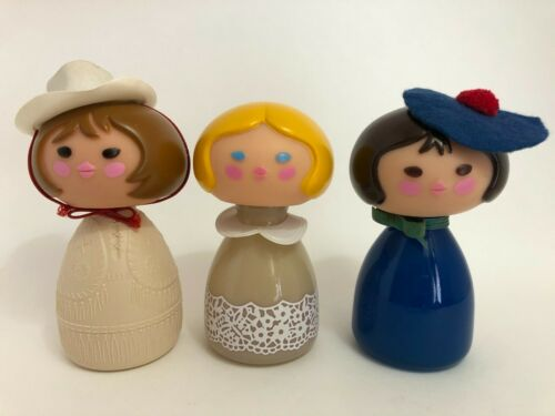 Small World Avon Cologne Mist Cream lotion Cowgirl French Girl Blonde Girl 3