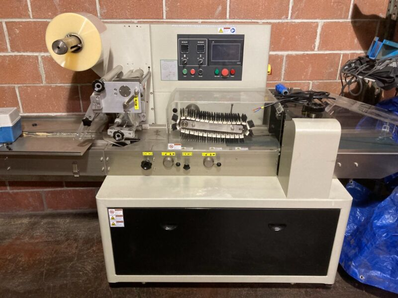 Excel Packaging C-350 Flow Wrapper (Overwrapping) Machine - Barely Used!