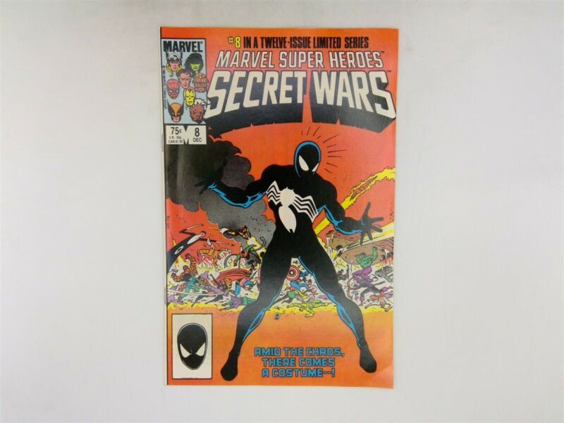 Marvel Super Heroes: Secret Wars #8 Marvel Comics 1984 VF 1st Black Suit!