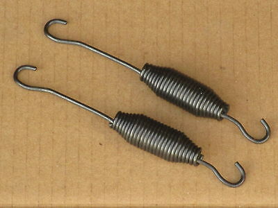 2 Clutch Pedal Springs For Ford Golden Jubilee Industrial 1801 1821 1841 Naa