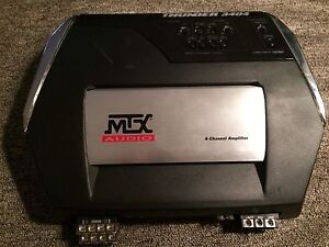 Mtx thunder3404- 4 channel amp. 125$obo