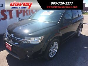 2016 Dodge Journey SXT/Limited 7 PASSENGER, DVD, REMOTE START