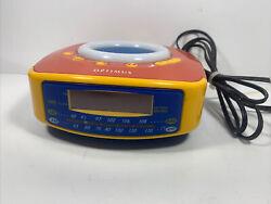 Vintage Optimus CR-316 AM/FM Radio Kids Alarm Clock & Melody Music