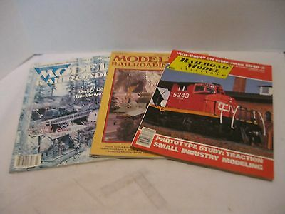 RailRoad Model Craftsman 83, 92, 04 Lot of 3 Magazines