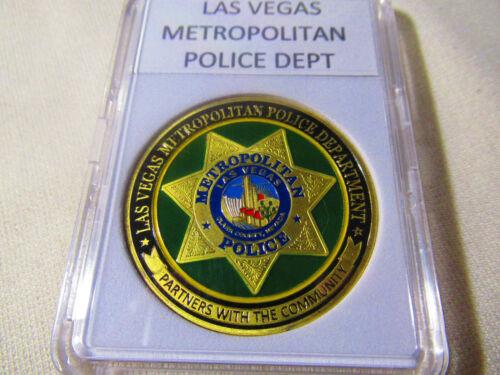 LAS VEGAS METROPOLITAN Police Dept Challenge Coin