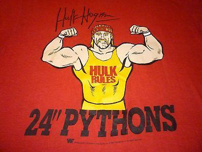 Hulk Hogan Rae Vintage 1989 Shirt ( Used Size XL ) Nice Condition!!!
