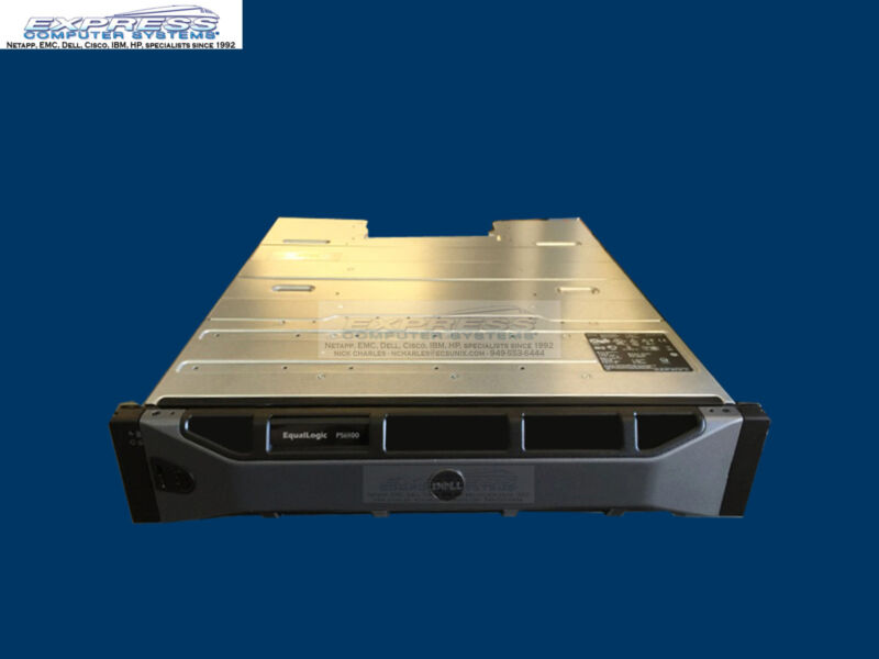 Dell Equallogic Ps6100xs 2x Type 11 1gbe Iscsi San Ps6100 No Disk