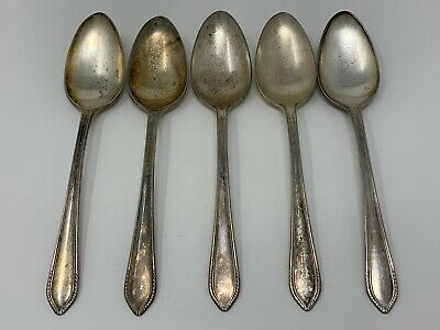 Antique Silverplate Chocolate Muddler Spoon Wm A Rogers Windsor Long Handle